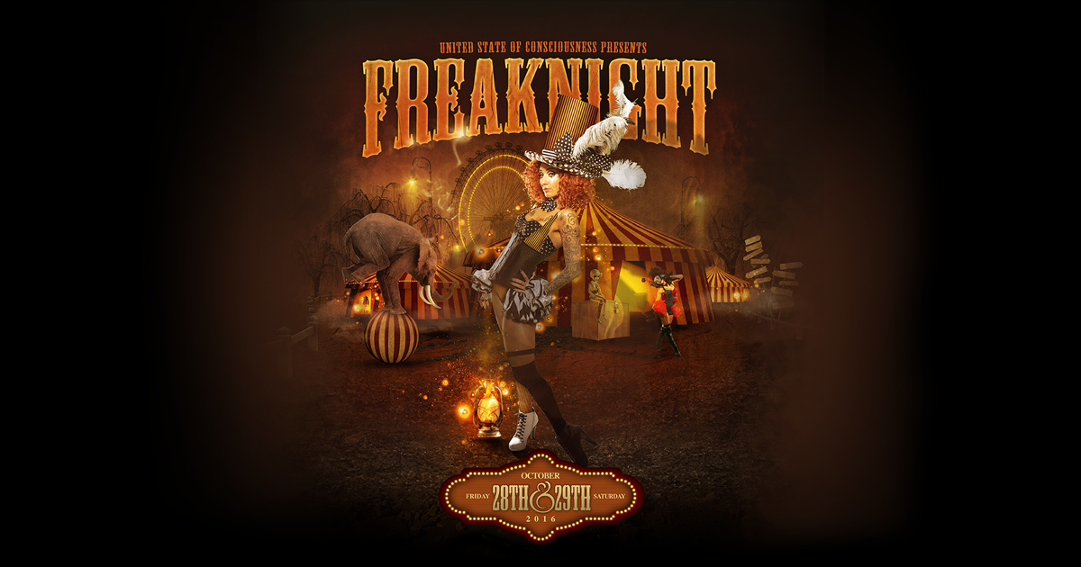 Halloween EDM Events, Freaknight