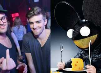 deadmau5 the chainsmokers twitter