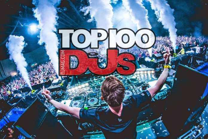 dj mag top 100 results 2017