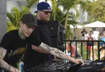 Eric Prydz and Deadmau5