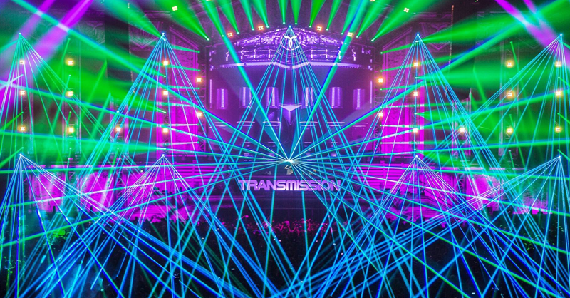This Stunning Laser Show From Transmission Will Blow Your