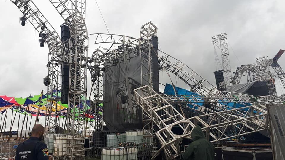 DJ Kaleb Freitas killed as stage collapses at Brazilian electronic music festival