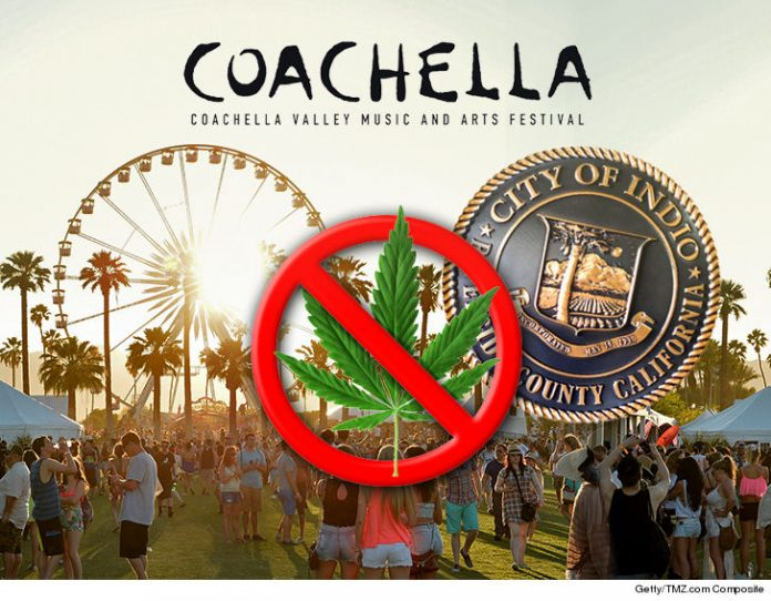Coachella Will Not Allow Marijuana Despite California Legalization