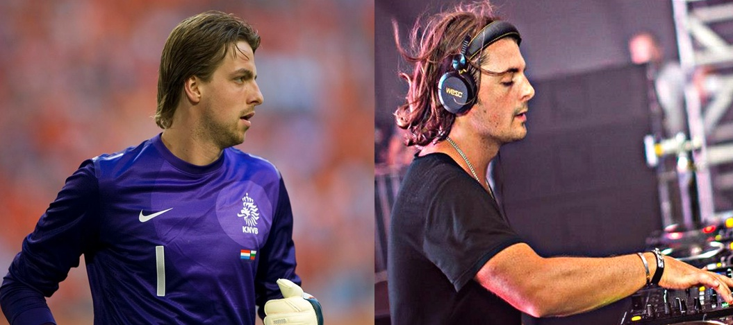 Axwell and Tim Krul