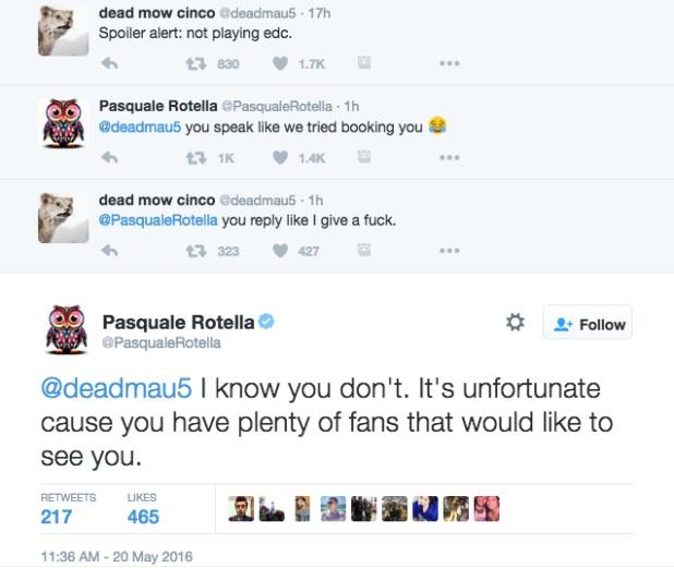 Deadmau5 vs EDC