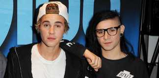 skrillex and justin bieber