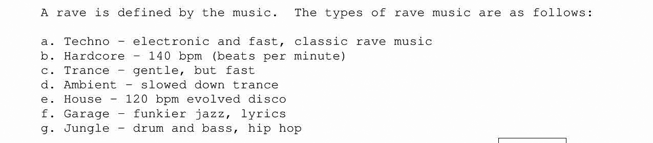 rave music ravejungle
