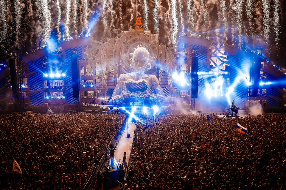 Alfa Future People fireworks