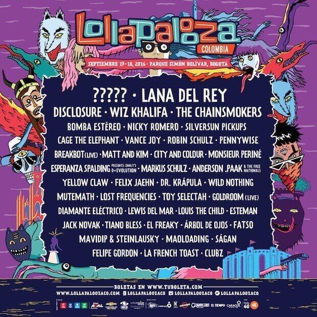 Lolapalooza Colombia