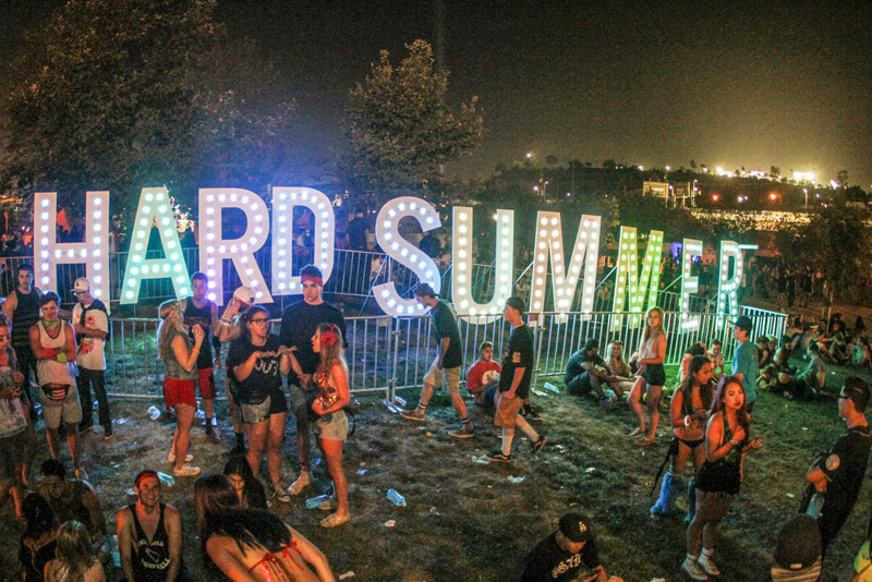 hard summer festival ravejungle