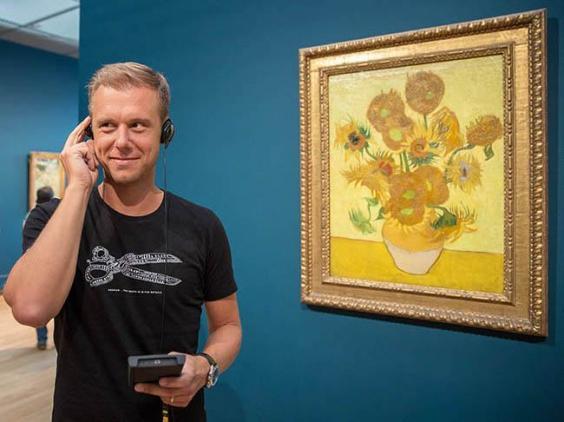 Armin van Buuren at Van Gogh's Museum