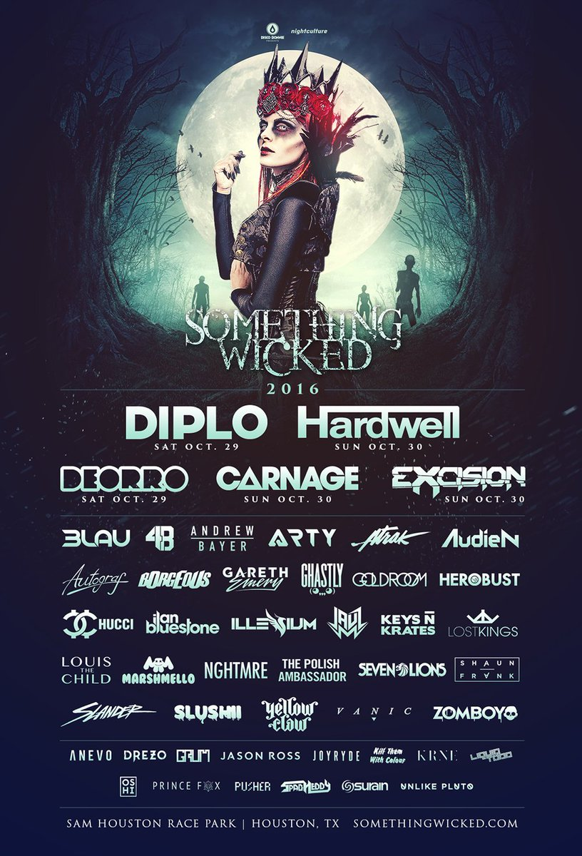 Something Wicked's Lineup