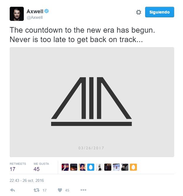 Axwell hints at Swedish House Mafia reunion