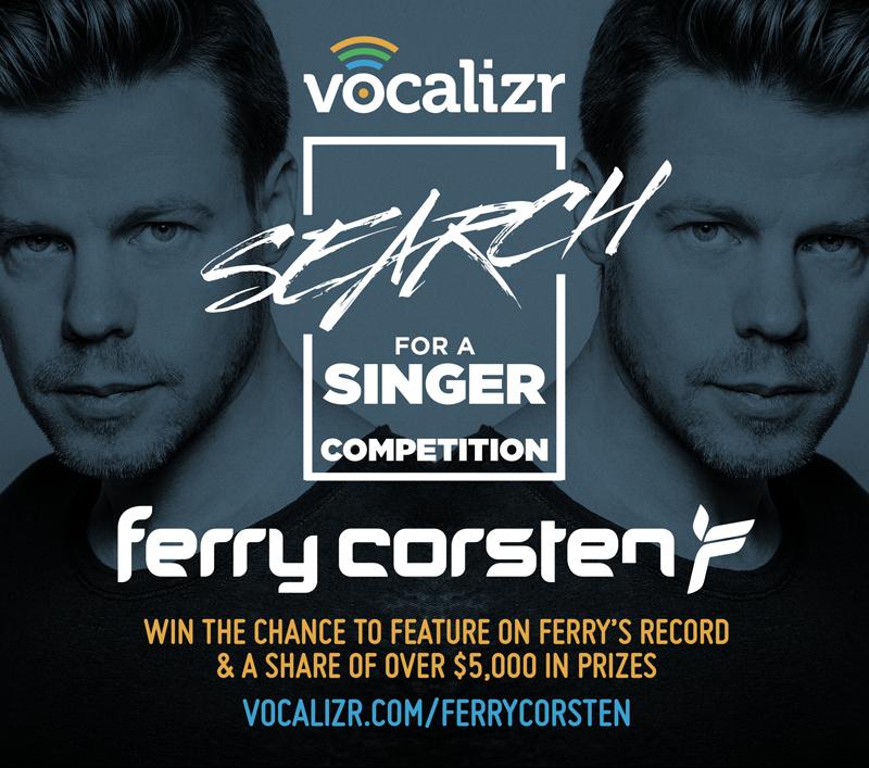 Ferry Corsten , Vocalizr contest