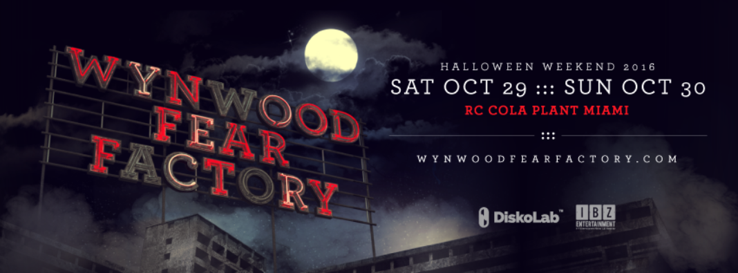 Haloween EDM Events, Wynwood Fear Factory
