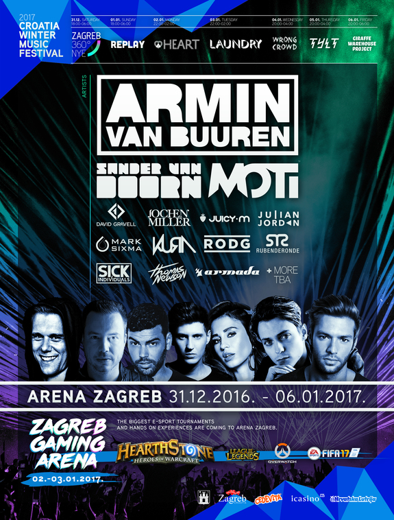 Winter Music Festival lineup