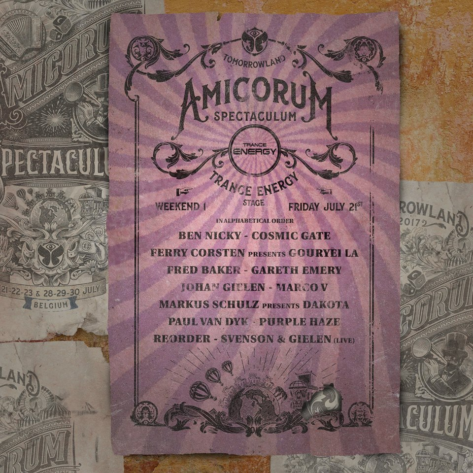 Tomorrowland Amicorum Spectaculum