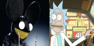 deadmau5 rick and morty