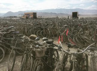 burning man bikes