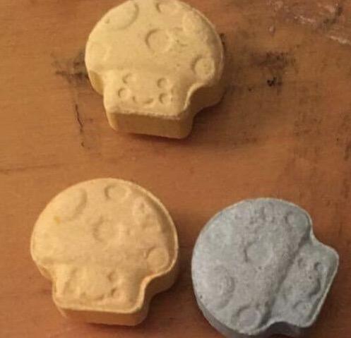 blue mushroom ecstasy pills