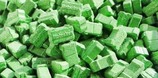 green heineken ecstasy pills