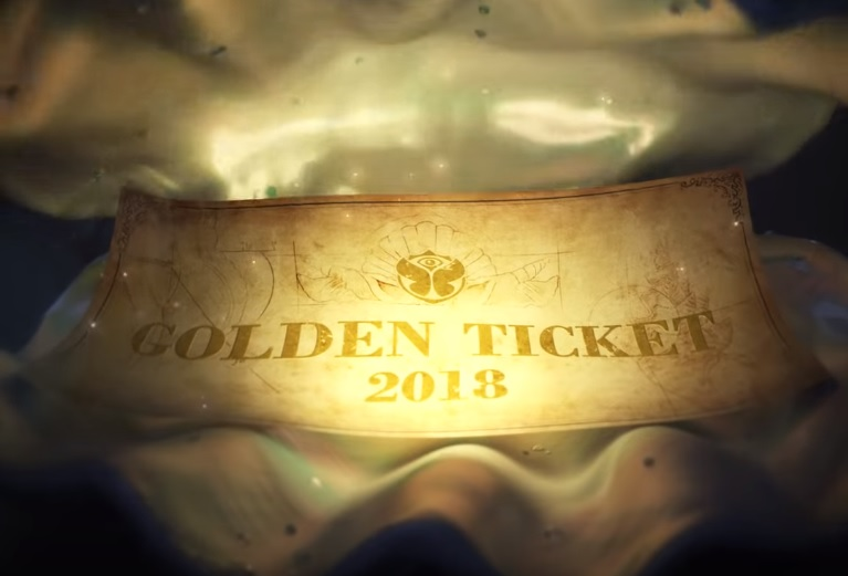 tomorrowland golden ticket