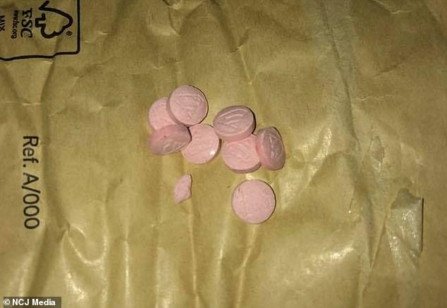 pink superman ecstasy pills