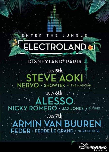Electroland Disneyland edm festival