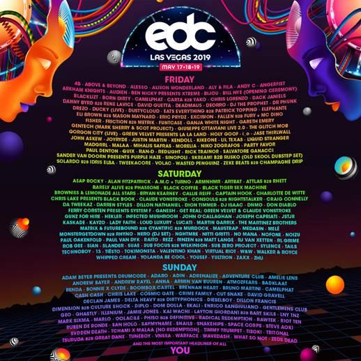 edc las vegas 2019 lineup