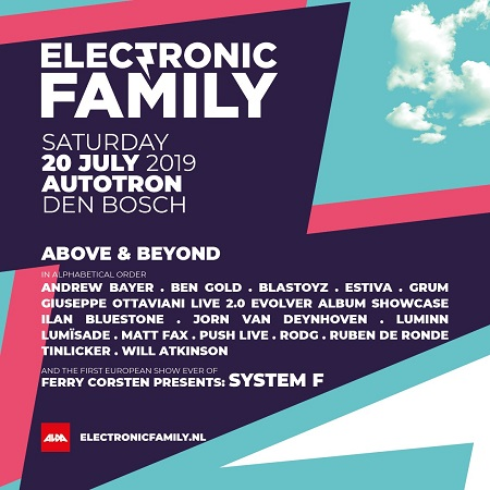Electronic Family lineup 2019