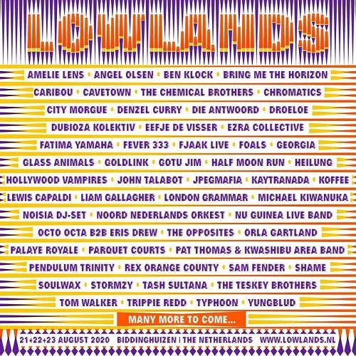 Bildergebnis für lowlands festival 2020 line up