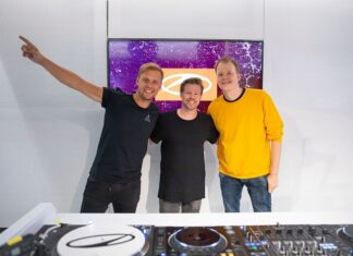Armin van Buuren and Ferry Corsten (1)